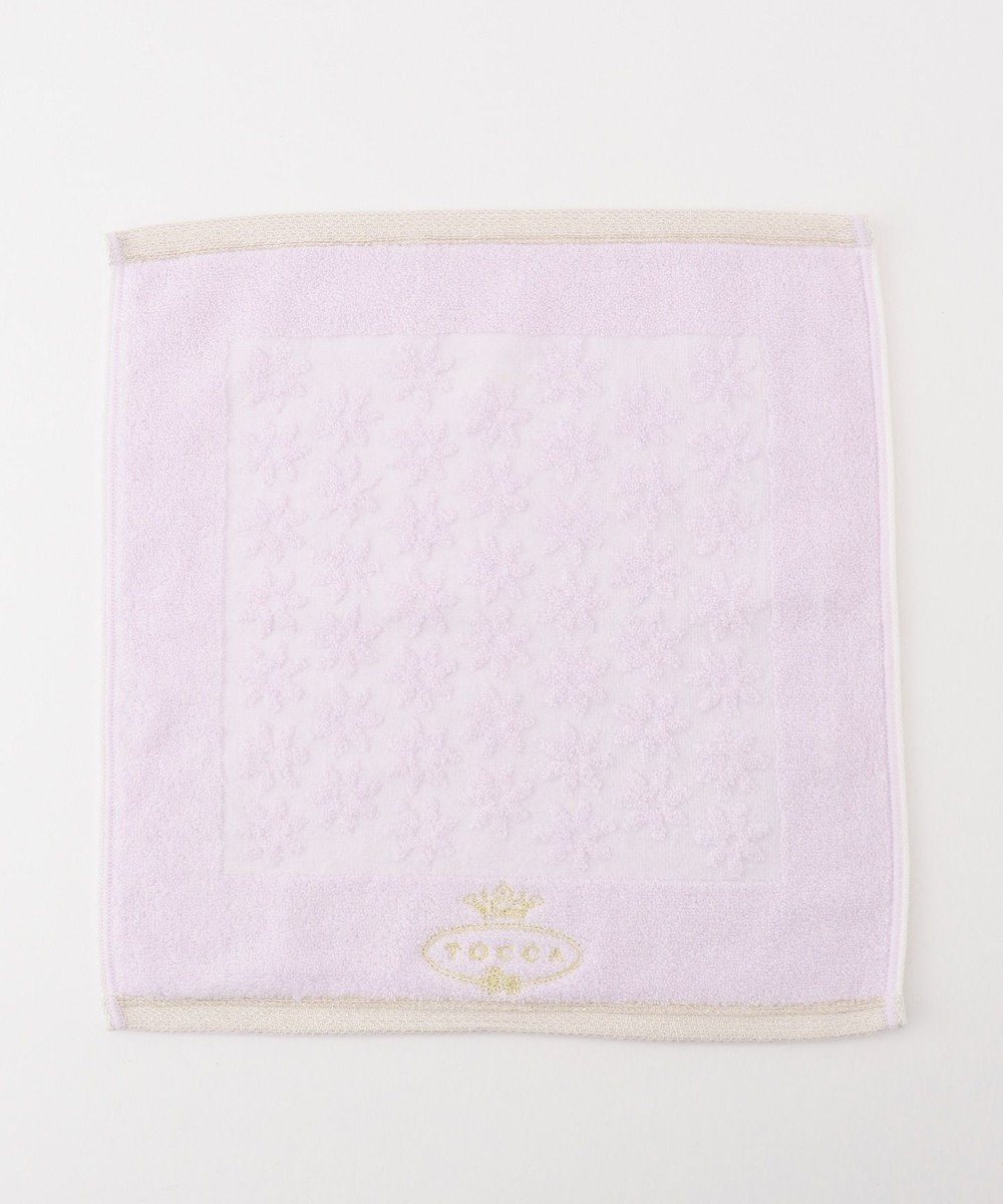 TOCCA 【TOWEL COLLECTION】LIETO GUEST TOWEL ゲストタオル ライラック系