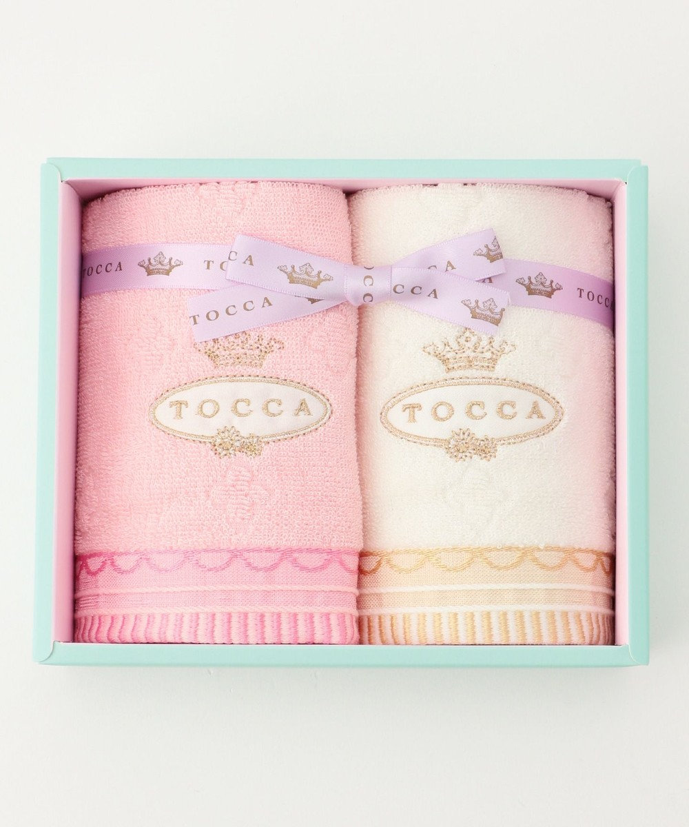 TOCCA 【TOWEL COLLECTION】GIFT BOX タオル(GT-2) ピンク系