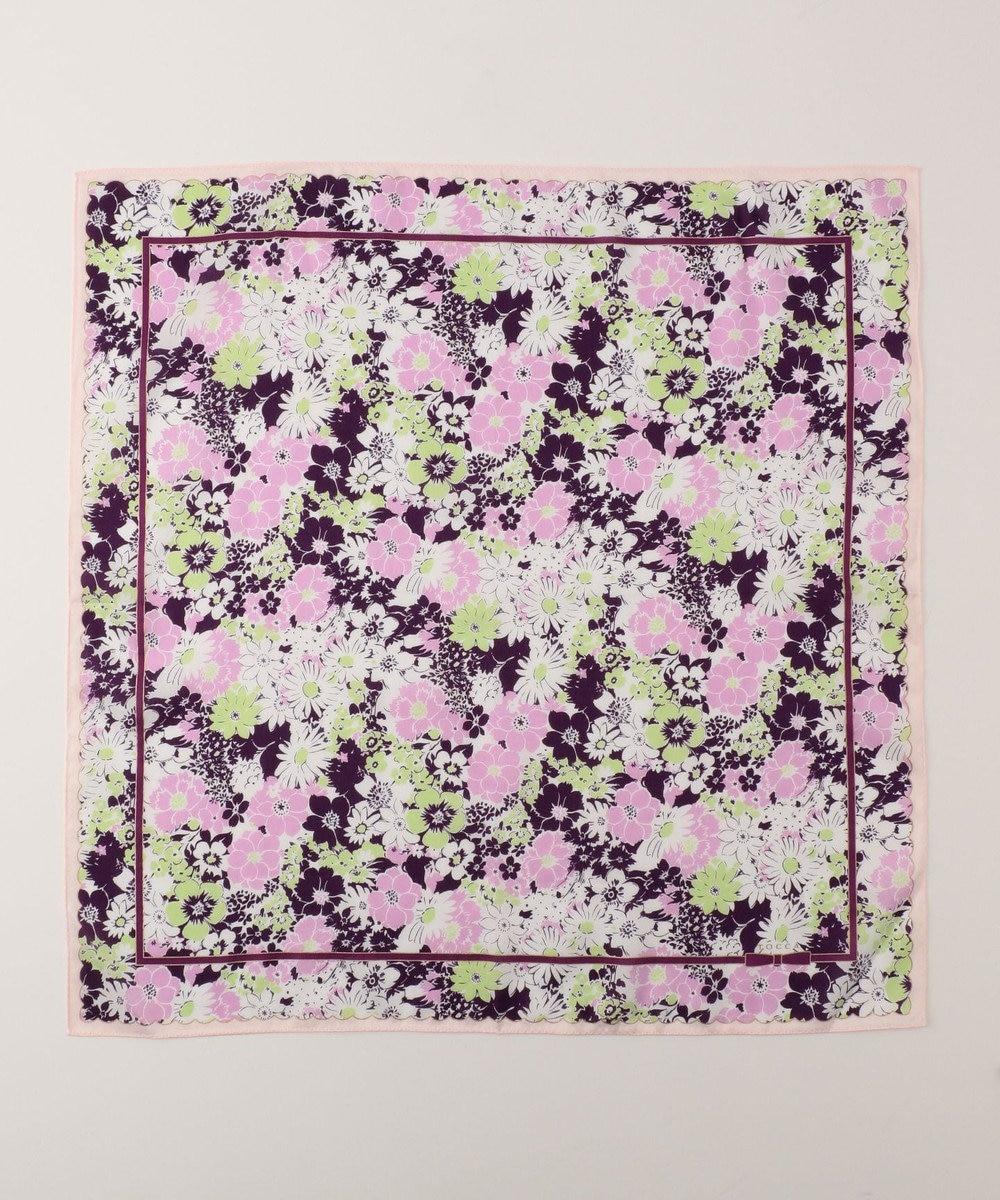 TOCCA 【HANDKERCHIEF COLLECTION】FLOWER SHOWER HANDKERCHIEF ハンカチ ピンク系
