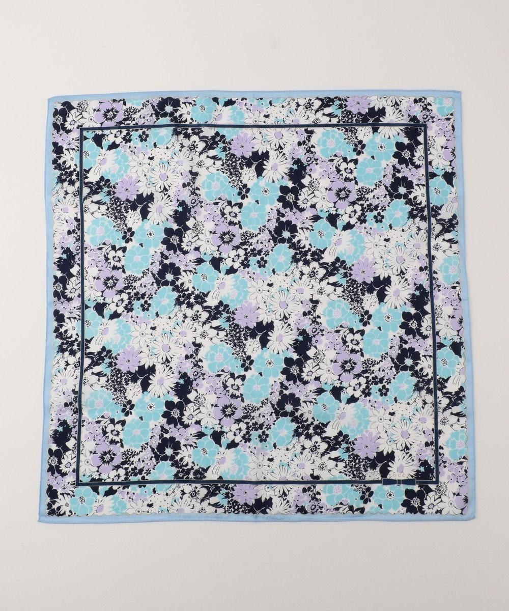 TOCCA 【HANDKERCHIEF COLLECTION】FLOWER SHOWER HANDKERCHIEF ハンカチ ブルー系