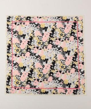 TOCCA 【HANDKERCHIEF COLLECTION】FLOWER SHOWER HANDKERCHIEF ハンカチ アイボリー系
