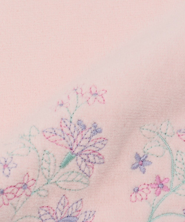TOCCA 【HANDKERCHIEF COLLECTION】STRAW FLOWER TOWEL HANDKERCHIEF タオル ピンク系