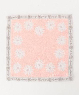 TOCCA 【HANDKERCHIEF COLLECTION】DAISY TOWEL HANDKERCHIEF タオル ピンク系