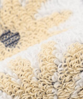 TOCCA 【HANDKERCHIEF COLLECTION】DAISY TOWEL HANDKERCHIEF タオル ホワイト系