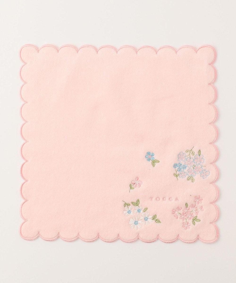 TOCCA 【HANDKERCHIEF COLLECTION】LUCULIA TOWEL HANDKERCHIEF タオル ピンク系