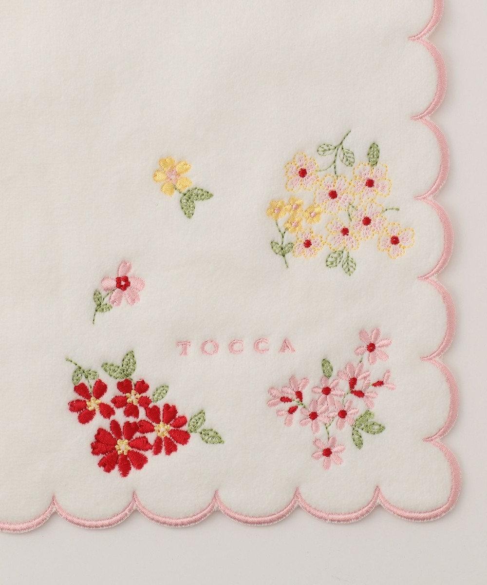 TOCCA 【HANDKERCHIEF COLLECTION】LUCULIA TOWEL HANDKERCHIEF タオル ホワイト系
