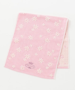 TOCCA 【TOWEL COLLECTION】LLARE FACE TOWEL フェイスタオル ピンク系