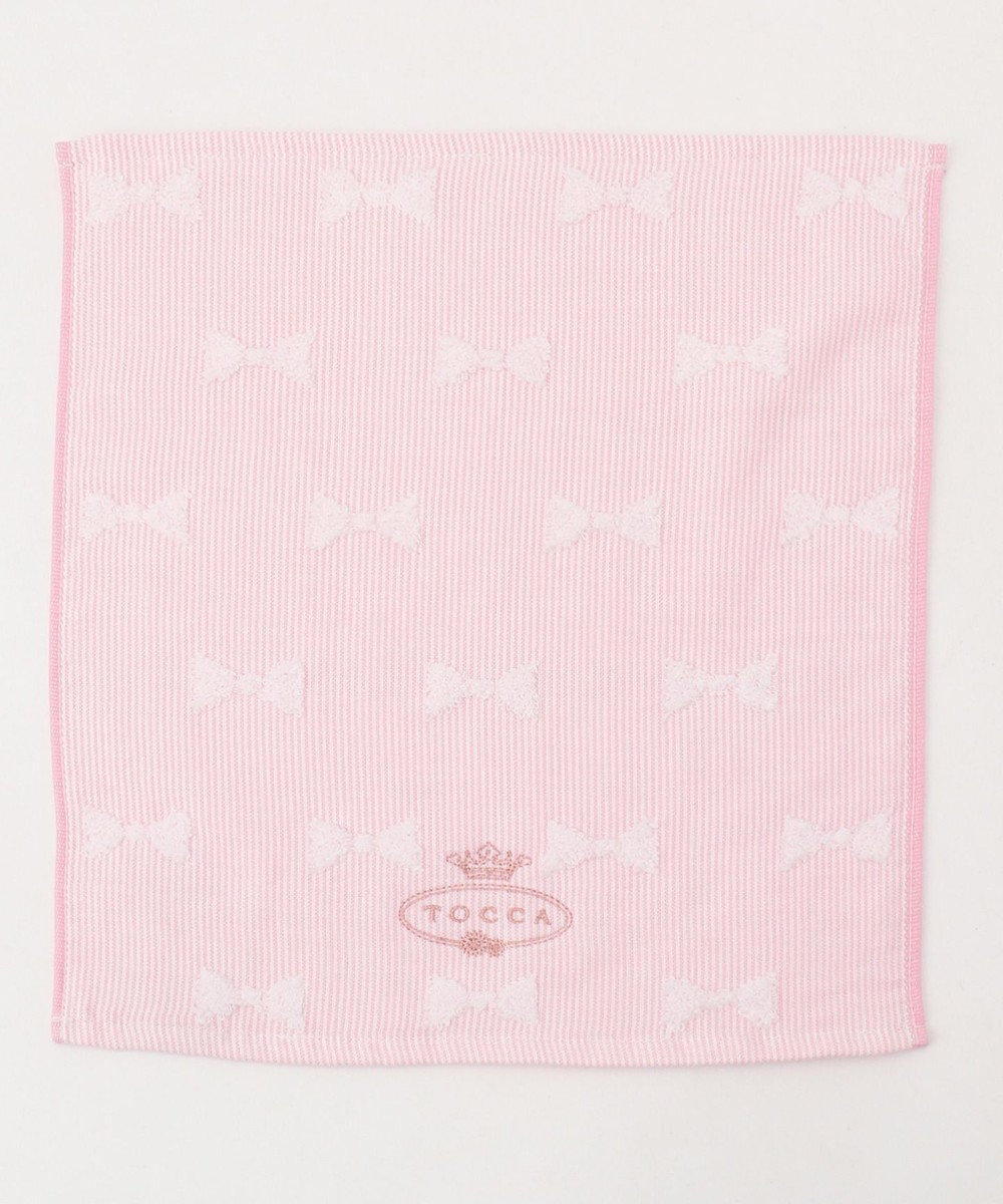 TOCCA 【TOWEL COLLECTION】PULITO GUEST TOWEL ゲストタオル ピンク系
