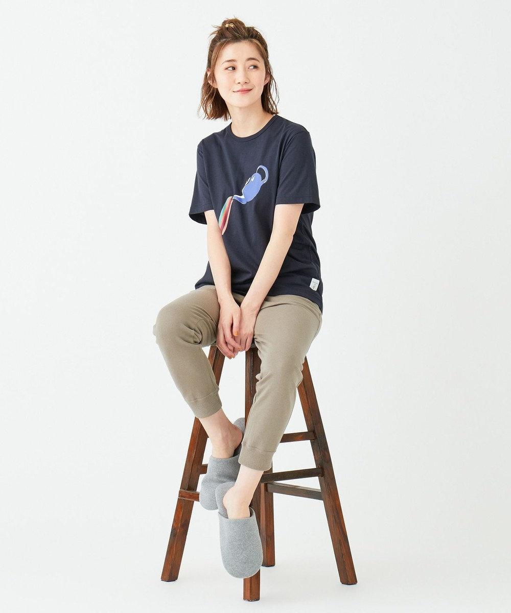 Paul Smith 【LOUNGEWEAR】アートTシャツ NAVY/TEA POT