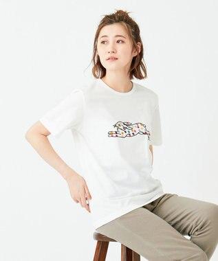 Paul Smith 【LOUNGEWEAR】アートTシャツ WHITE/DOT RABBIT