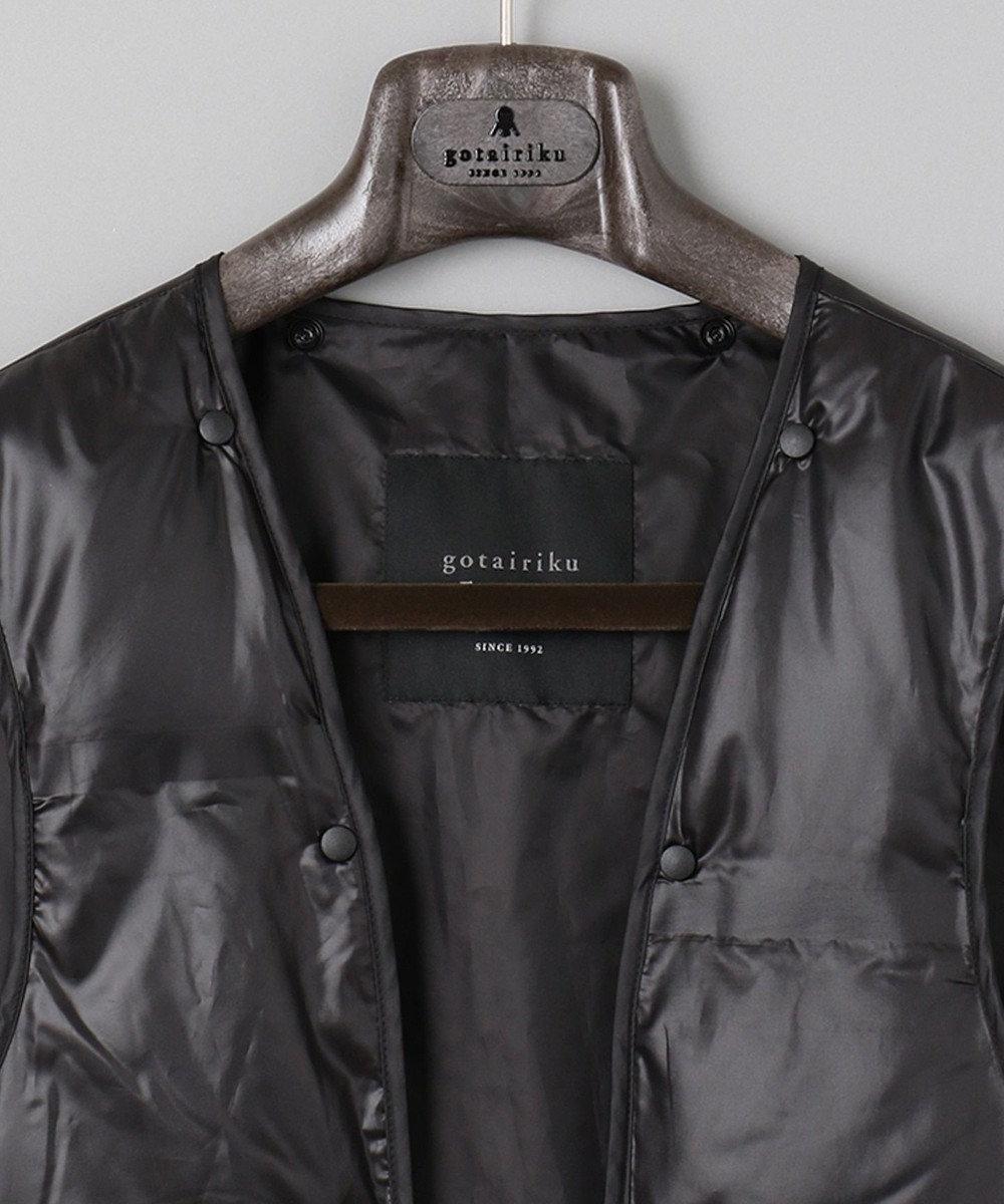 GOTAIRIKU 【対象コートとの脱着可能】【ADS】デタッチャブル ダウンライナー ブラック系