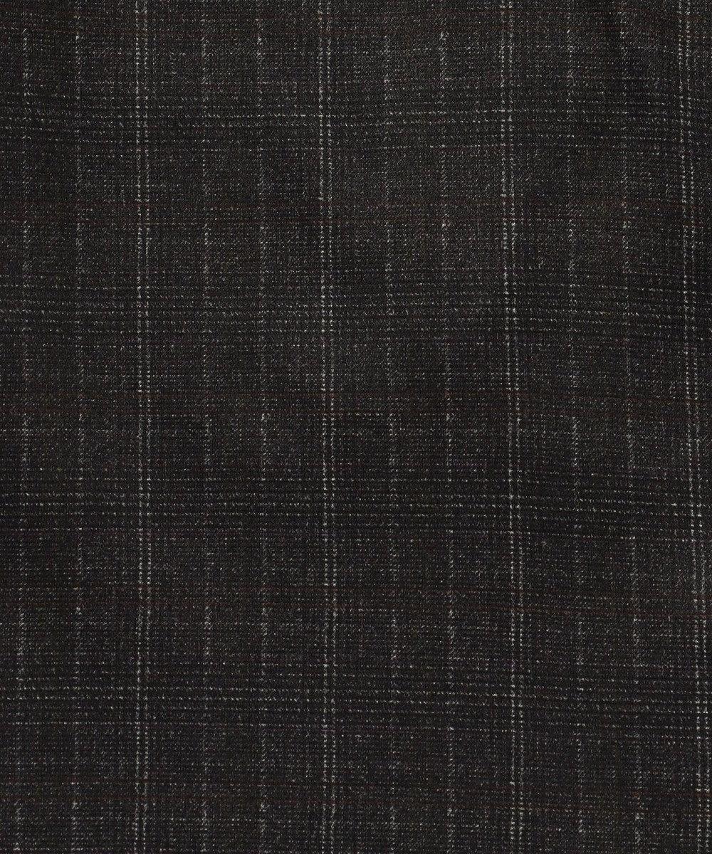JOSEPH ABBOUD 【キングサイズ・セットアップ】ツィーディージャージチェック ベスト グレー系3