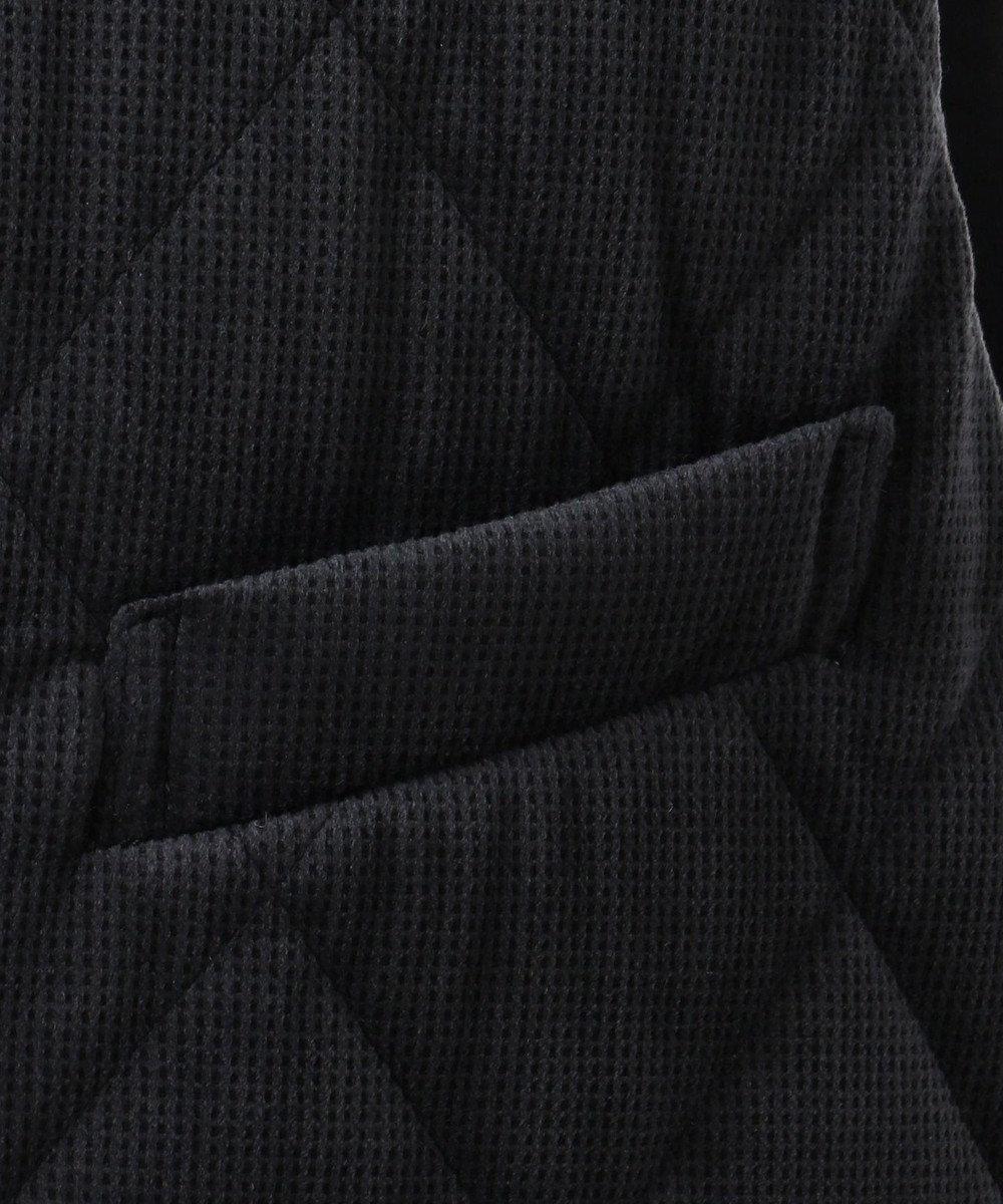 JOSEPH ABBOUD 【温度調節素材】オパールサンドべロア ベスト ネイビー系