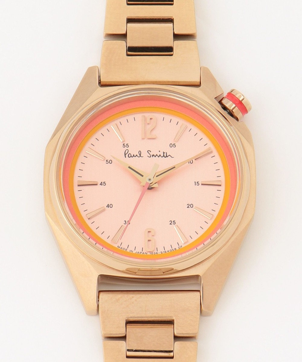 Paul Smith オクタゴンミニ 腕時計 ゴールド系