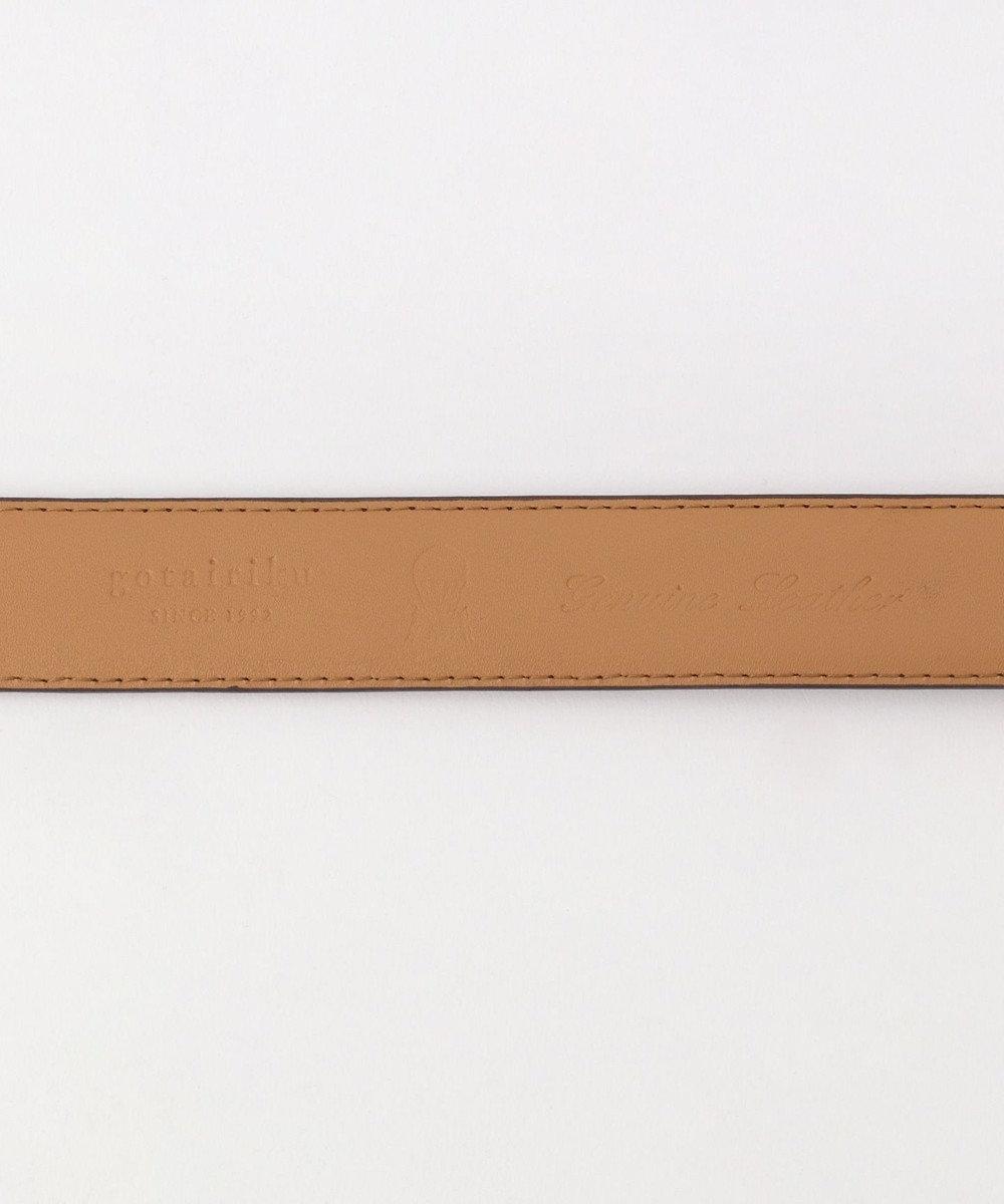 GOTAIRIKU ベーシックオイルドレザー ベルト ダークブラウン系