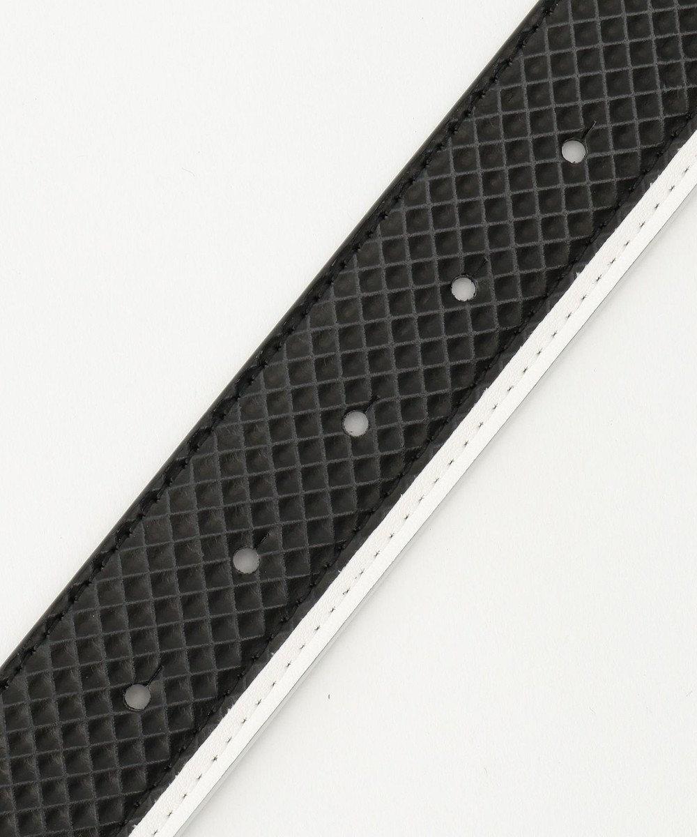 23区GOLF 【MEN】ロゴバックル ベルト ブラック系