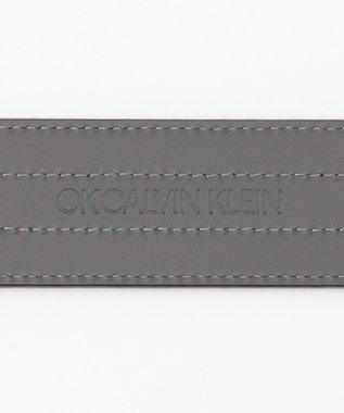 CK CALVIN KLEIN MEN 【デザイン】ステッチラインベルト ネイビー系