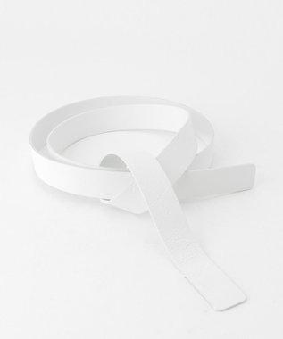 BEIGE, 【好評につき追加生産・新色追加】PENARE / ワイドサッシュベルト White