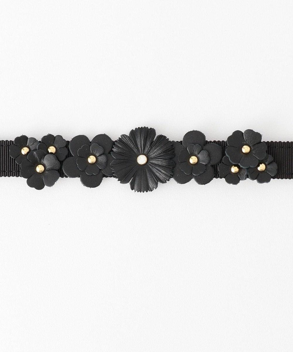 TOCCA FLOWER BELT ベルト ブラック系