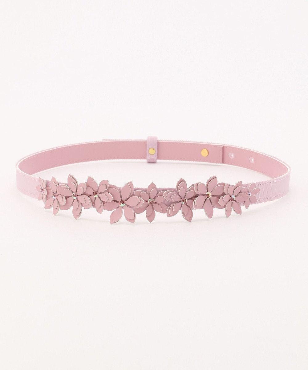 TOCCA 【SPRING WALTZ】FLOWER WOMAN BELT ベルト ピンク系