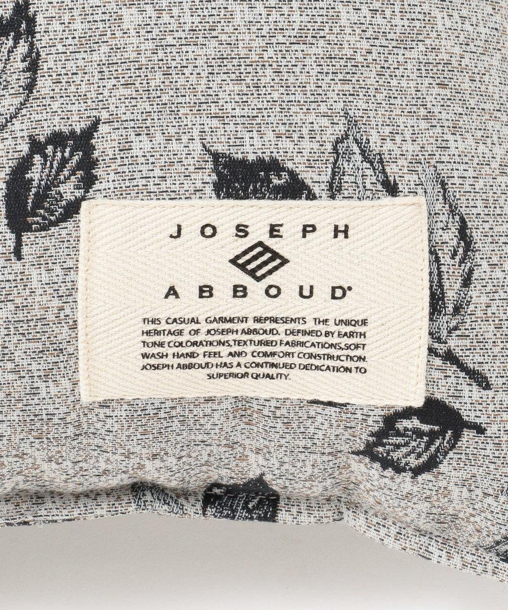 JOSEPH ABBOUD 【TeemuJarvi × JOSEPH ABBOUD】ジャガード クッション ライトグレー系