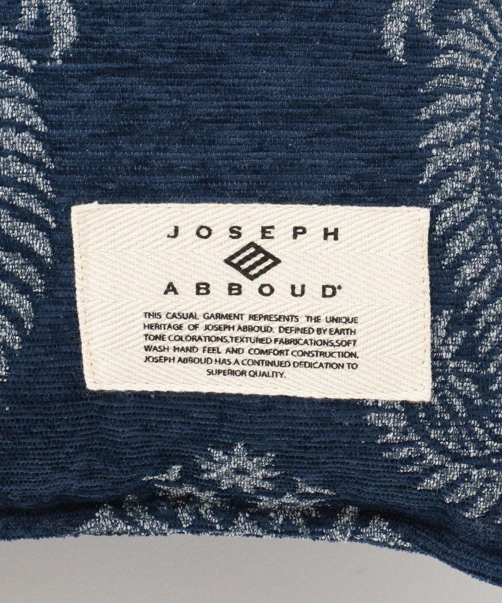 JOSEPH ABBOUD 【SPACE】ペイズリージャガード クッション ネイビー系7