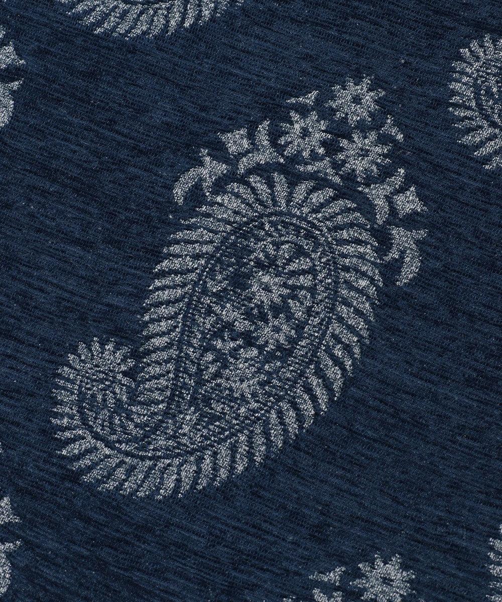 JOSEPH ABBOUD 【SPACE】ペイズリージャガード マット ネイビー系7