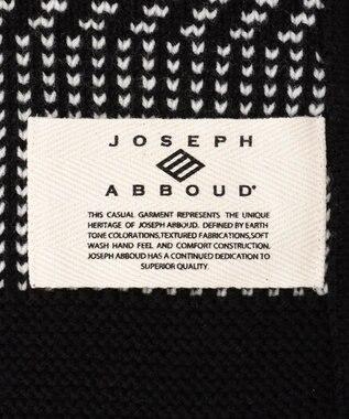 JOSEPH ABBOUD 【SPACE】huskyバルキーウール ブランケット ブラック系2