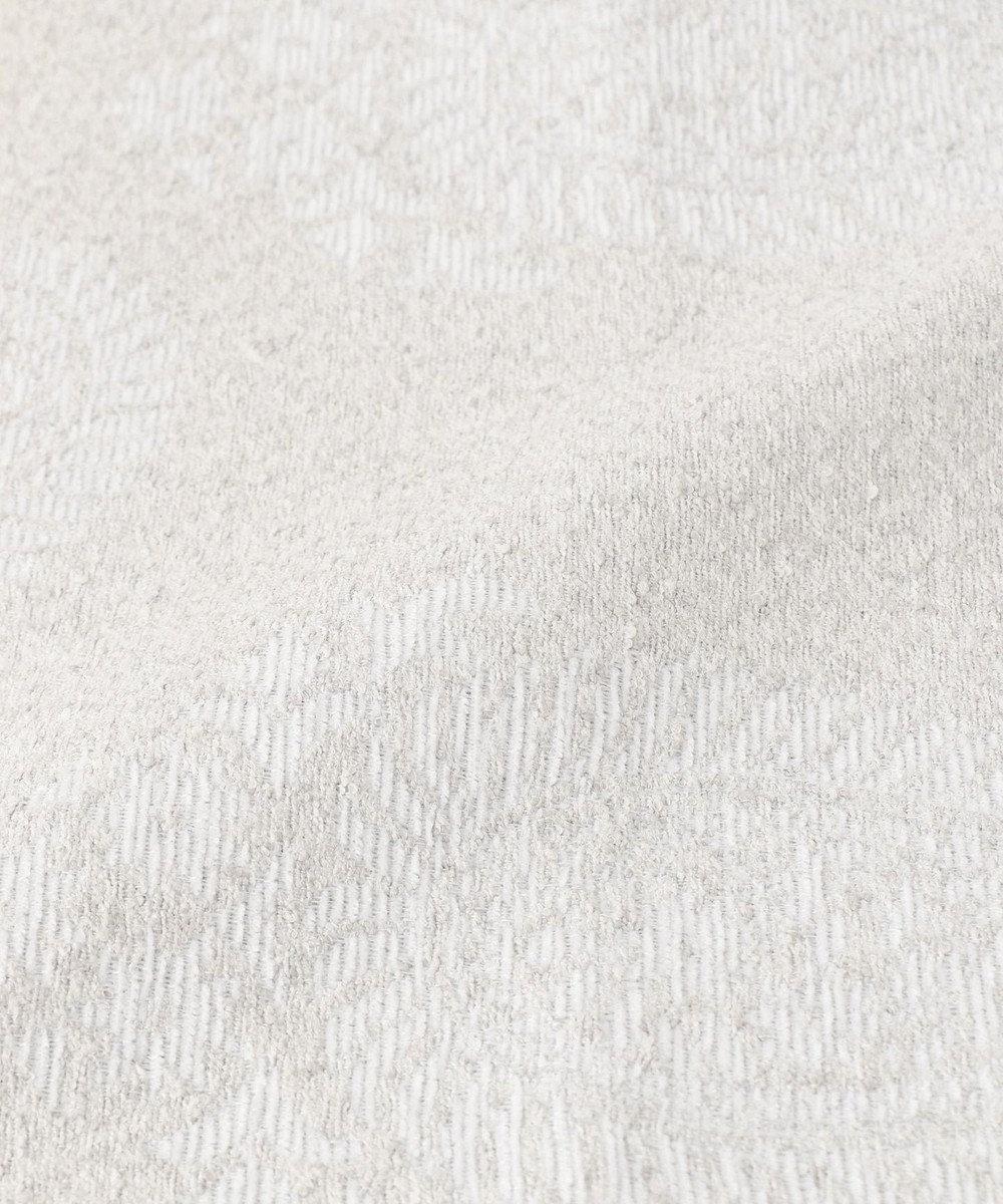 JOSEPH ABBOUD 【SPACE】ビッグペイズリー ラグ 45×65 ライトグレー系7