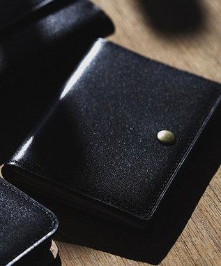 J.PRESS MEN 【カタログ掲載】オリジナルレザー カードケース ブラック系