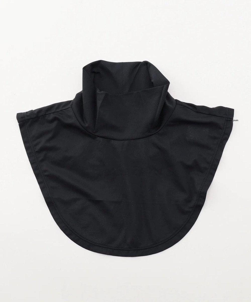23区GOLF 大人気の為最終追加!【WOMEN】【UV/吸水速乾】30d かのこ ネックカバー ブラック系