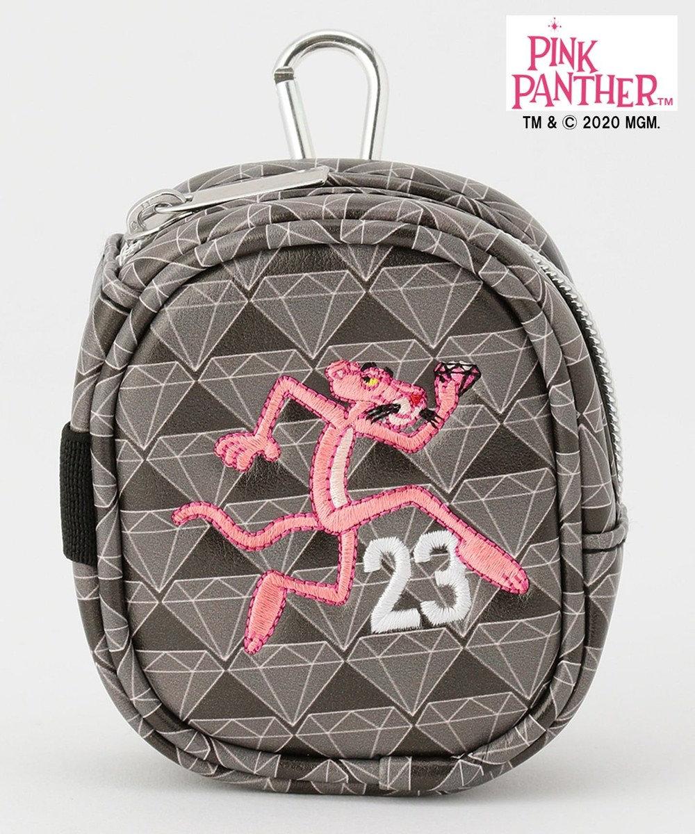 23区GOLF 【WEB限定有】【23区GOLF× pink panther】【UNISEX】ボールポーチ ブラック系5
