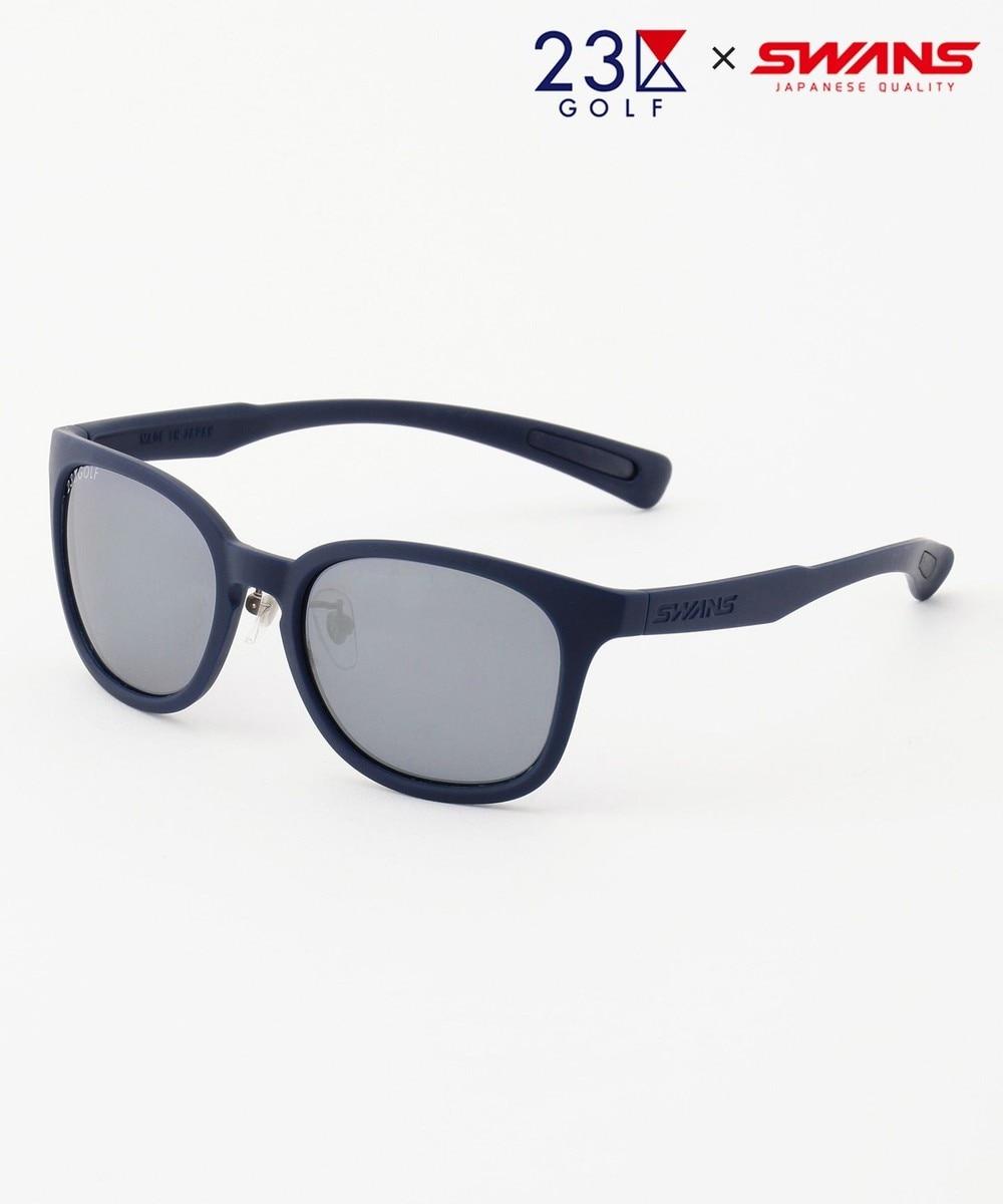【オンワード】 23区GOLF>ファッション雑貨 【UNISEX】【23区GOLF×SWANS】スペシャルコラボ サングラス(紺) ネイビー F レディース 【送料無料】