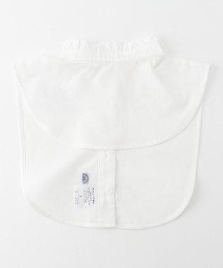 J.PRESS LADIES 【洗える】ハイネックフリルデコカラー 付け襟 ホワイト系