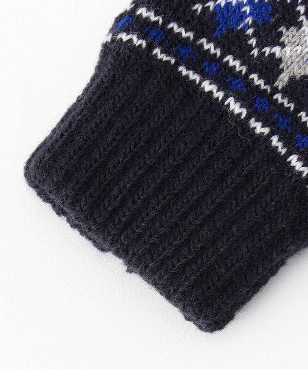 J.PRESS KIDS アーガイル 手袋