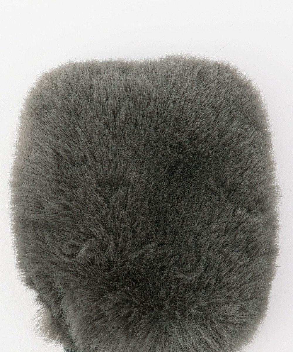 ICB Eco Fur アームグローブ グレー系
