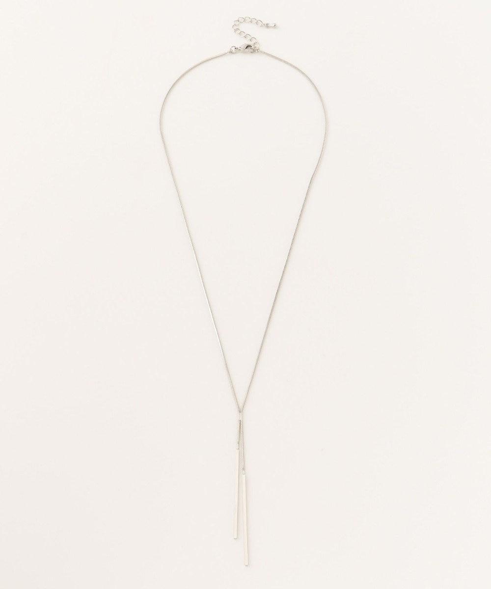 ICB 【Utilism】Simple Straight Chain ネックレス シルバー系