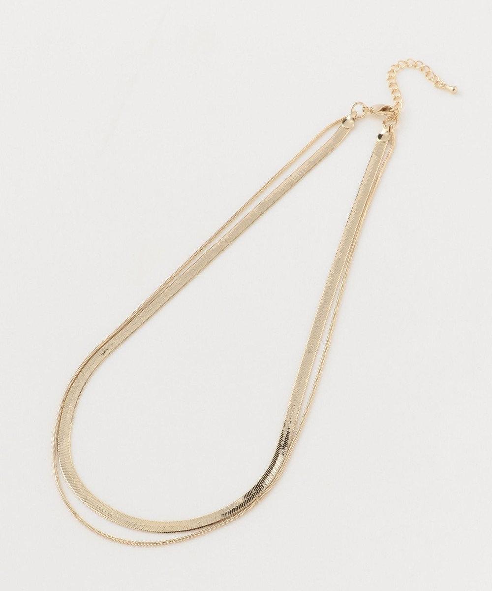 ICB 【Utilism】Layered Chain ネックレス ゴールド系