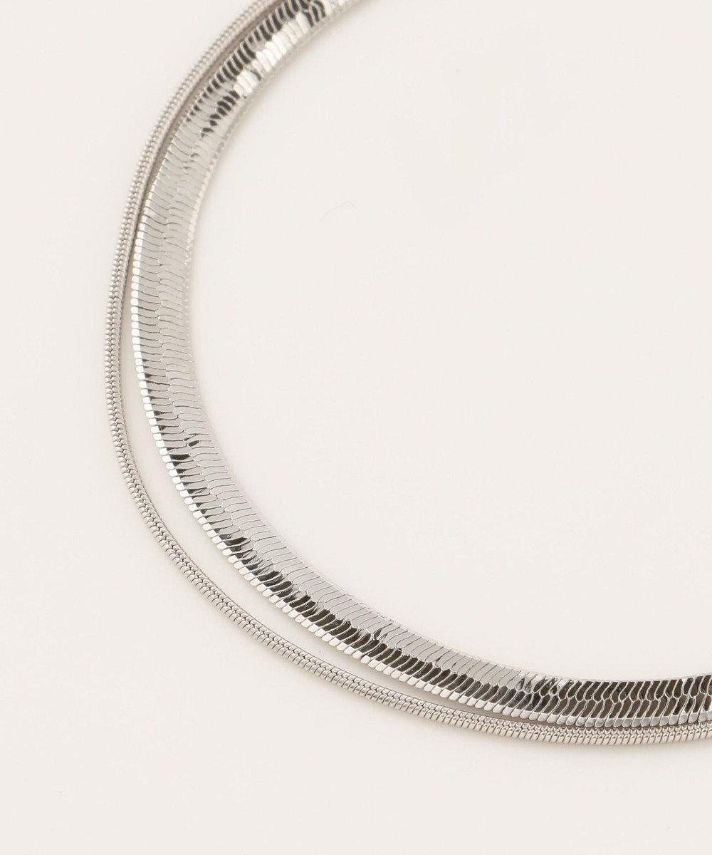 ICB 【Utilism】Layered Chain ネックレス シルバー系