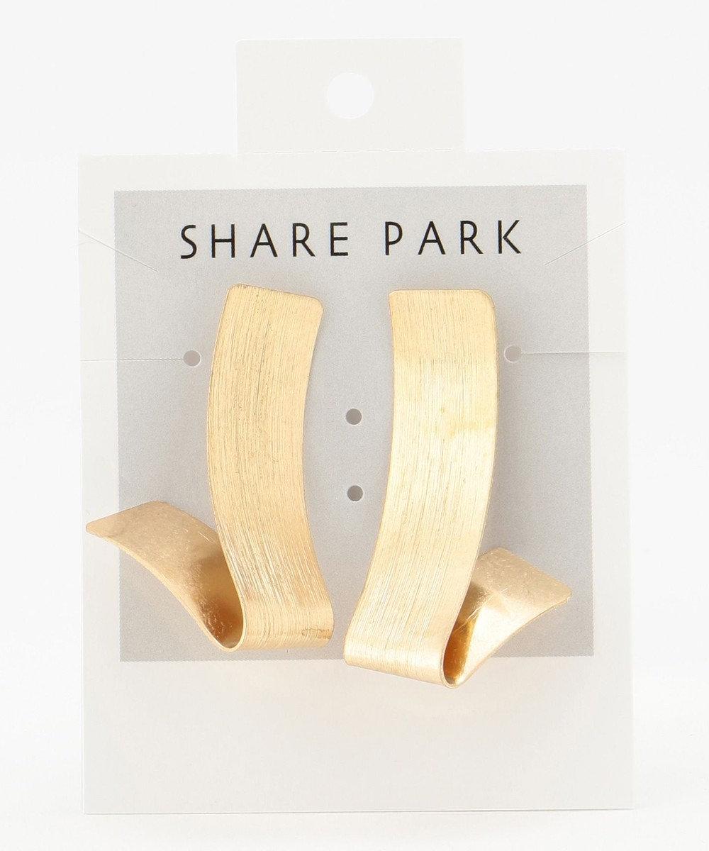 SHARE PARK LADIES チューインガムピアス ゴールド系