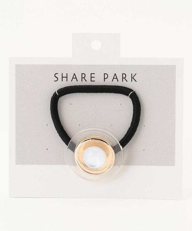 SHARE PARK LADIES ボタンヘアゴム