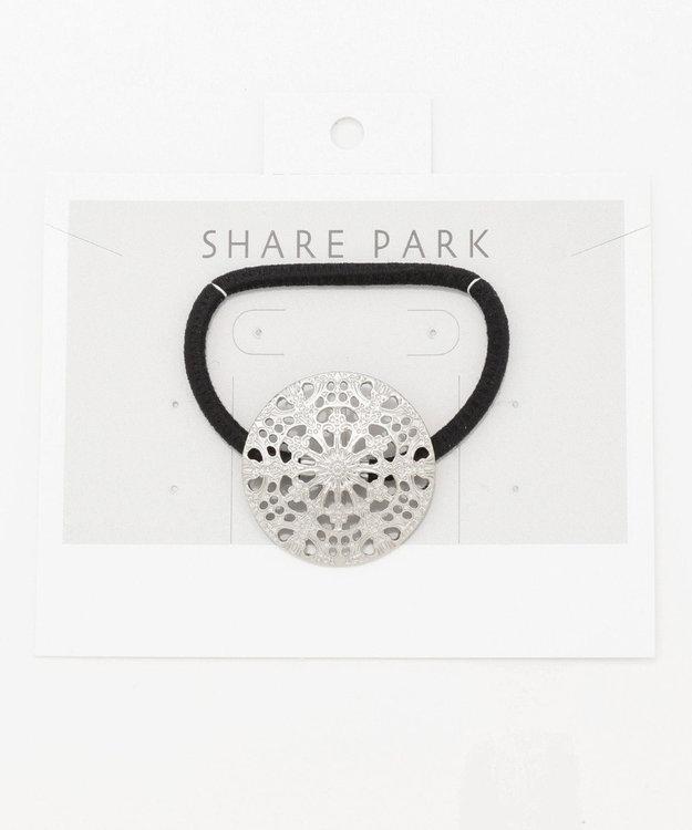 SHARE PARK LADIES スノークリスタルヘアゴム