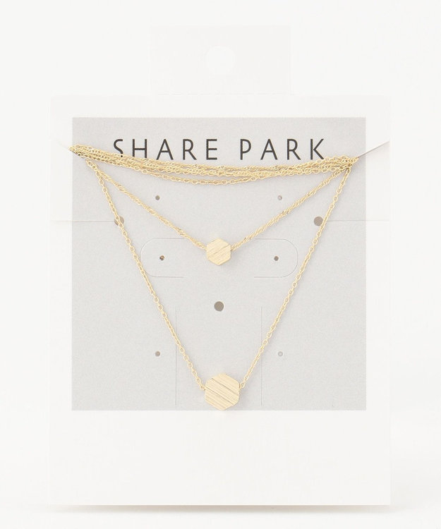 SHARE PARK LADIES プチモチーフネックレス