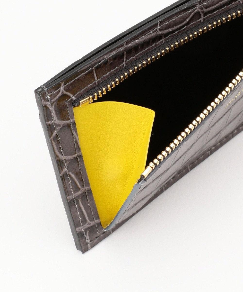 JOSEPH 【WEB限定カラーあり】SMALL LEATHER [CARD / COIN CASE] カードケース グレー系7
