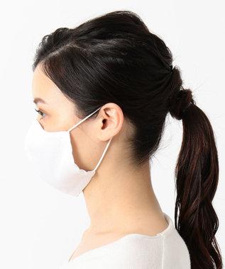 Production Labo 【日本製】布製マスク6(白織柄) 6枚セット 普通サイズ6枚入り