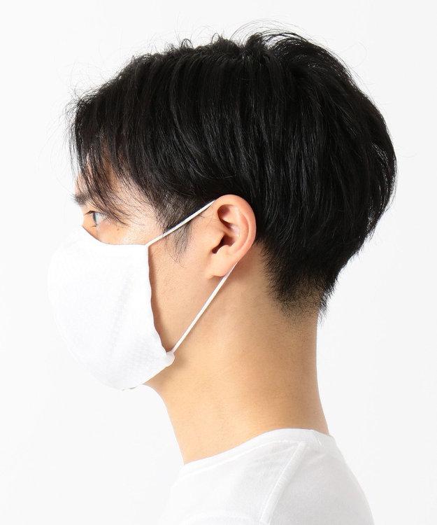 Production Labo 【日本製】布製マスク6(白織柄) 6枚セット