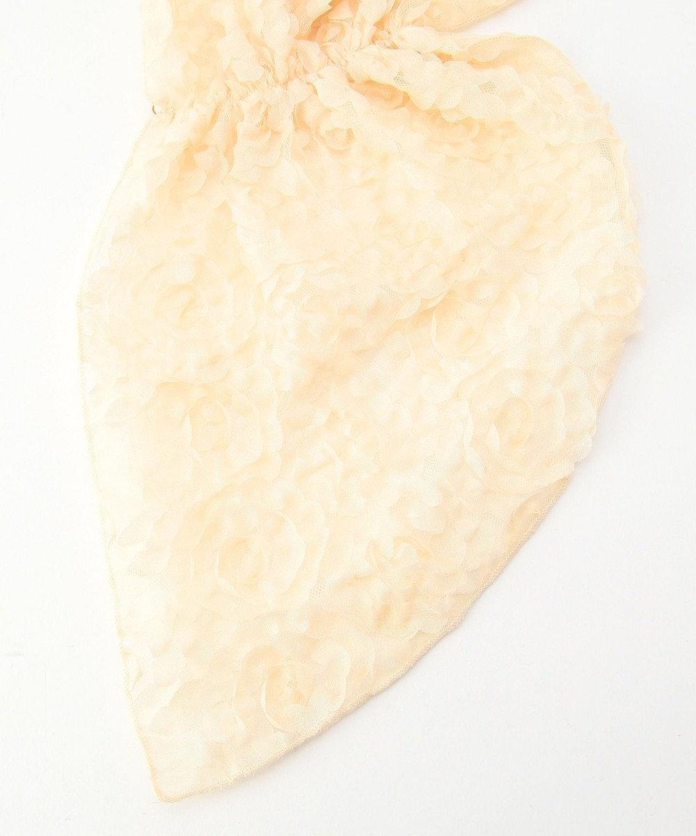 Feroux エレガンスフラワー ショール ゴールド系