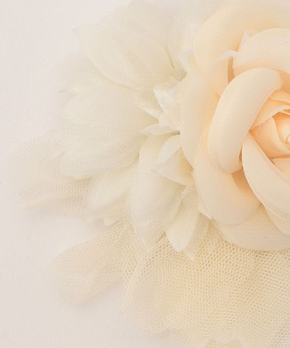 Feroux ローズ コサージュ アイボリー系