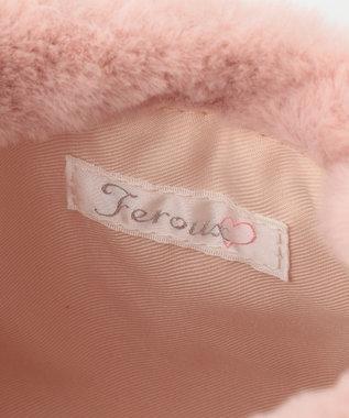 Feroux 【Ray12月号掲載】ベア ポーチ ピンク系