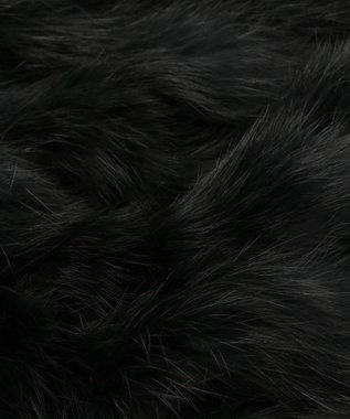 Feroux エレガンスファー ケープ ブラック系